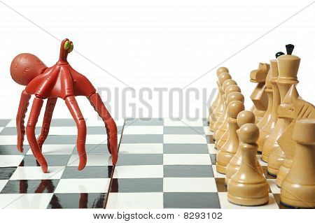 Chess: Funny Octopus