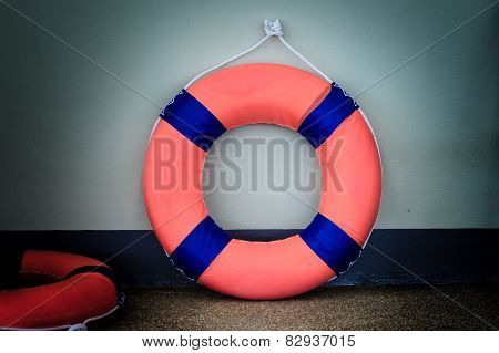Lifebuoy And Life Ring