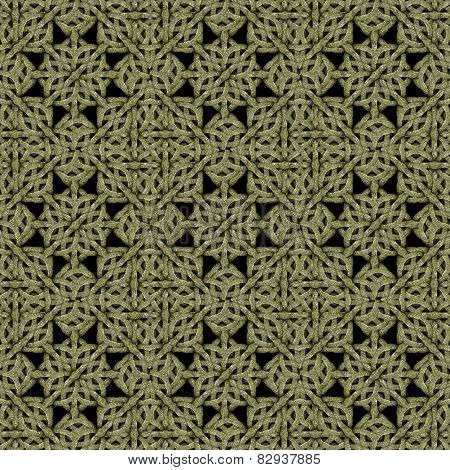 Digital Islamic Arabesque Art Pattern