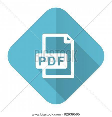 pdf file flat icon