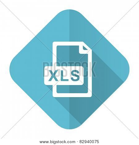 xls file flat icon