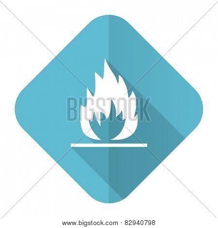 flame flat icon