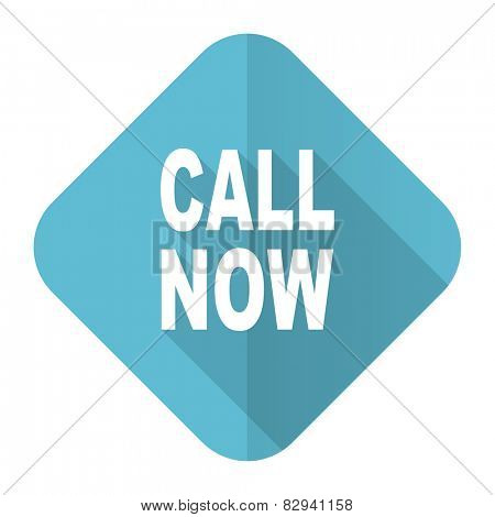 call now flat icon