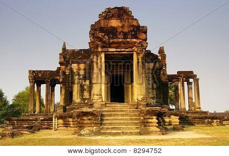 Temple Building at Angkor Wat