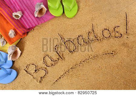 Barbados Beach Background