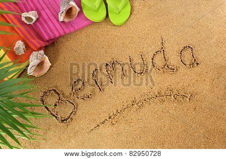 Bermuda Beach Background