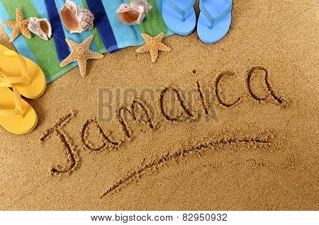 Jamaica Beach Writing