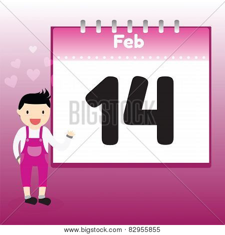 Valentine's Day In Calendar