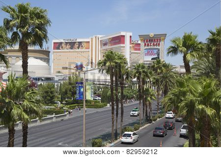 The Las Vegas Strip in Nevada