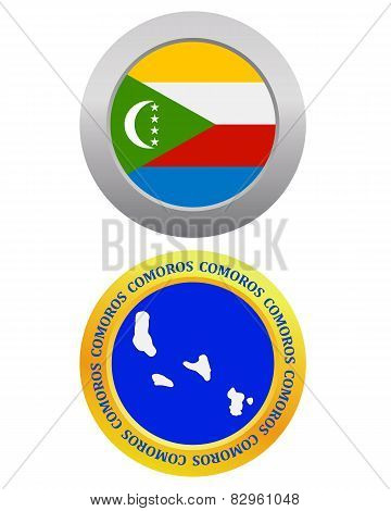 Button As A Symbol  Comoros