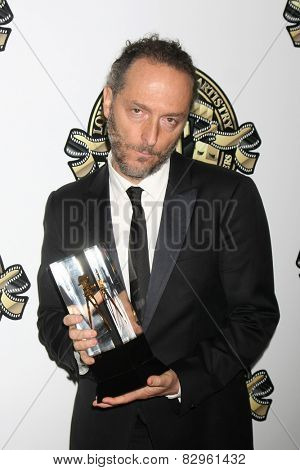 LOS ANGELES - FEB 15:  Emmanuel Lubezki at the 2015 American Society of Cinematographers Awards at a Century Plaza Hotel on February 15, 2015 in Century City, CA