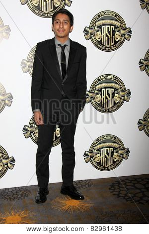 LOS ANGELES - FEB 15:  Tony Revolori at the 2015 American Society of Cinematographers Awards at a Century Plaza Hotel on February 15, 2015 in Century City, CA