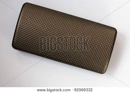 Glasses' Case On White Background