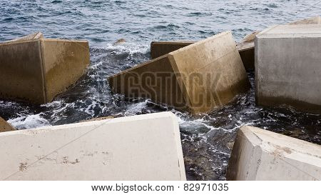 Breakwater Cubes
