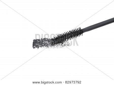 Brush Of Black Mascara