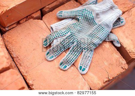 Gloves And Bricks