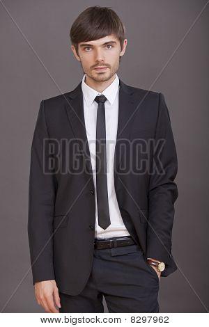 Fashion Portrait Of Businessman