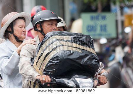 Man Woman Bike