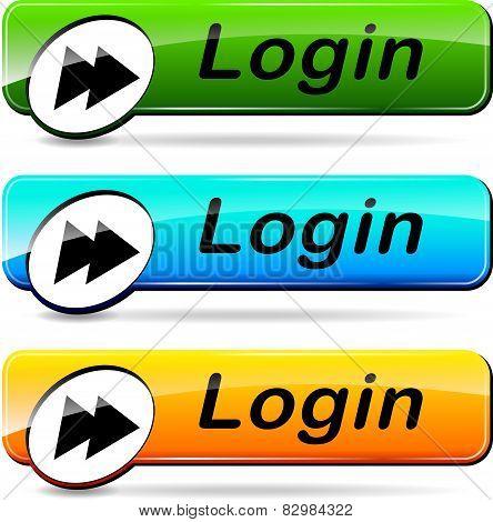 Login Buttons