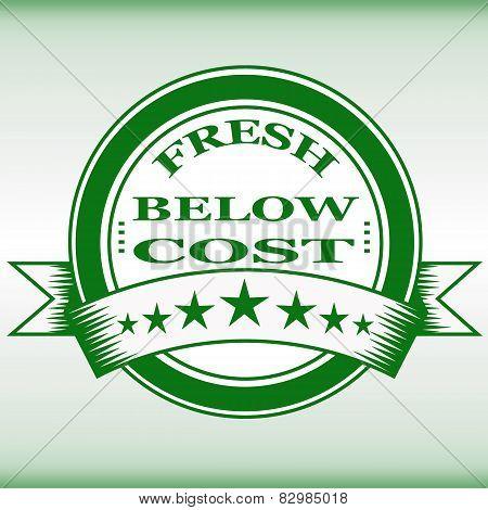 Fresh Below Cost Stamp