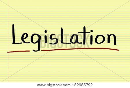 Legislation Concept