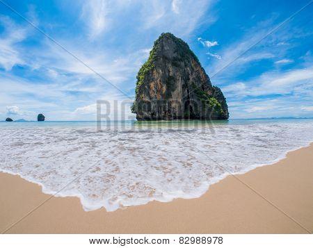 Rallay beach in Krabi Thailand