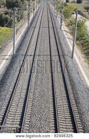 Close Up Railway