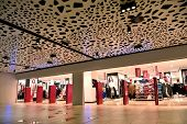 image of mall  - modern bright shopping mall indoor architecture - JPG