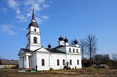 Church in Kobona Russia was from here begun