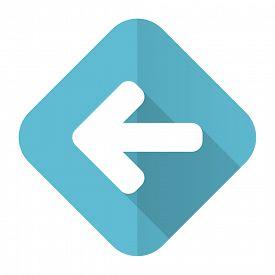 pic of arrow  - left arrow flat icon arrow sign - JPG