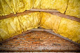 stock photo of thermal  - Thermal insulation material  - JPG