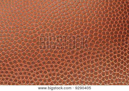 Close-up Of Football Texture