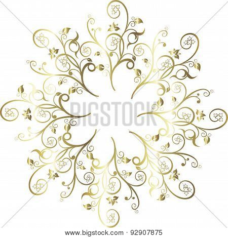 vector illustration floral decoration