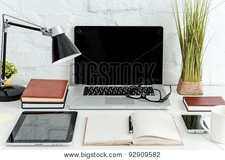 Working Place With What You Need.