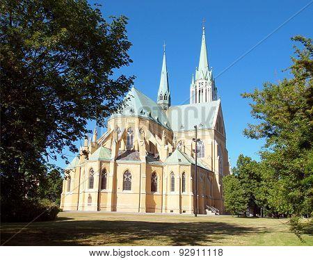 Basilica of St. Stanislaus Kostka in Lodz.