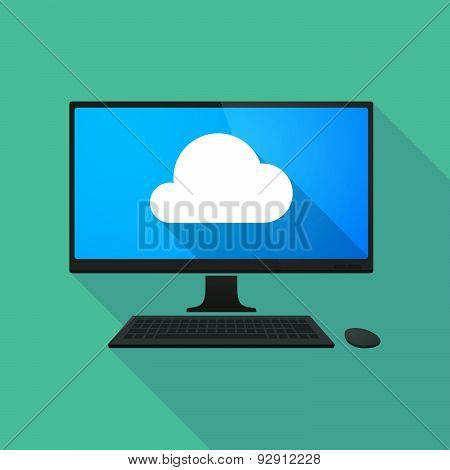Personal Computer With A Cloud