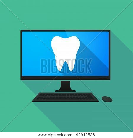 Personal Computer With A Tooth