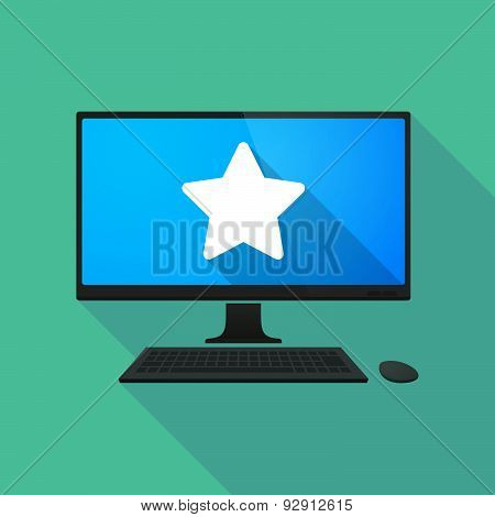 Personal Computer With A Star