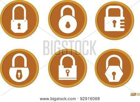 Security Lock Icons