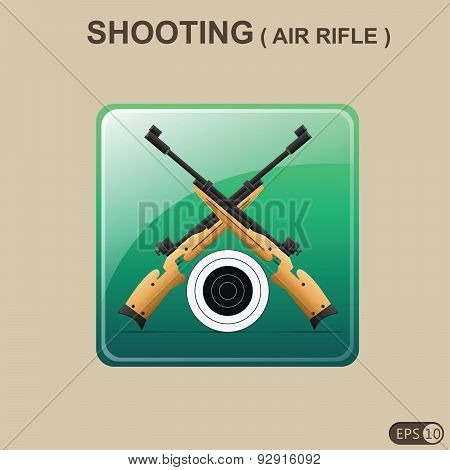 Rifle Shooting Icon