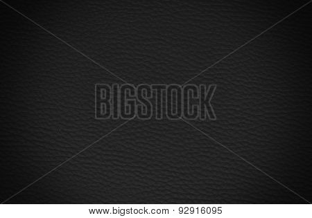 Black Shining Leather Texture Background
