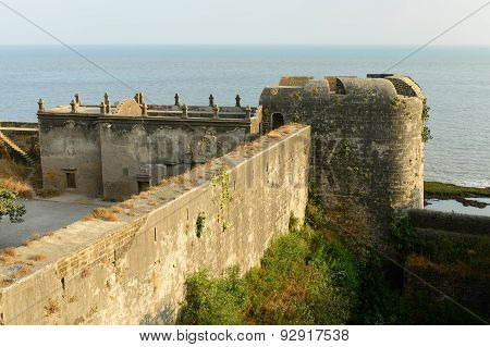 Fort In The Diu Town, India