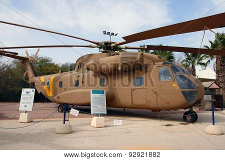 Sikorsky Ch-53 Transport Helicopter