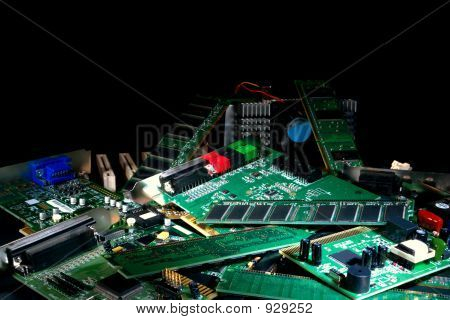 Computer Parts and Circuit Boards