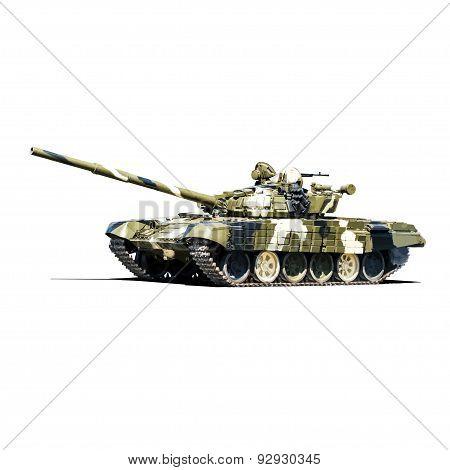 Battle tank t72