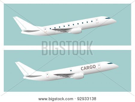 Passenger Aircraft And Cargo Aircraft
