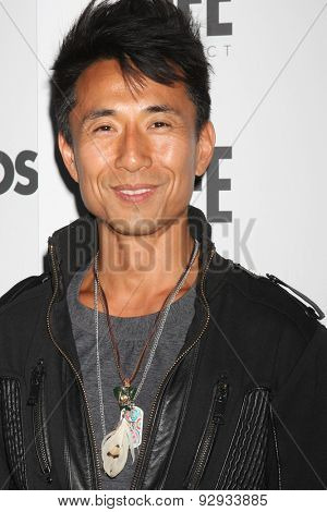 LOS ANGELES - JUN 8:  James Kyson, James Kyson-Lee at the LA Launch Of LYCOS Life at the Banned From TV Jam Space on June 8, 2015 in North Hollywood, CA