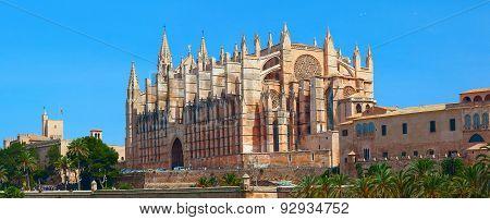 Santa Maria Cathedral. Palma De Majorca, Spain