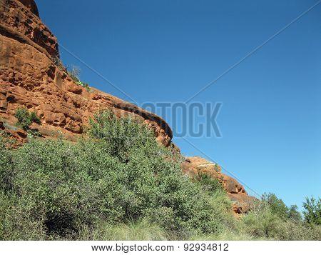 Climbing Red Bell Rock Mountain