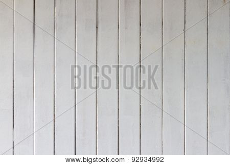 White Wood Taxture Background.